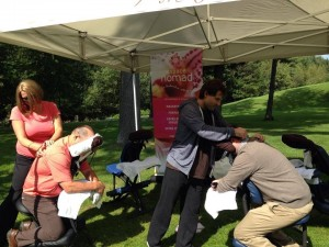 massage en evenement
